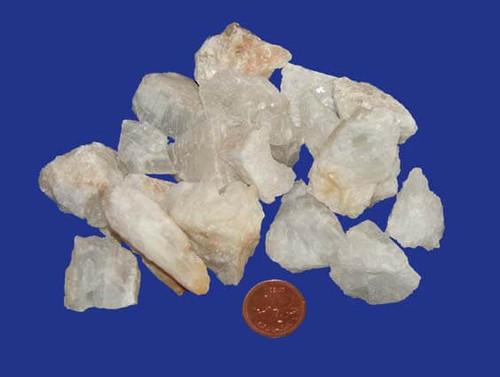 Raw White Calcite Stones - size small