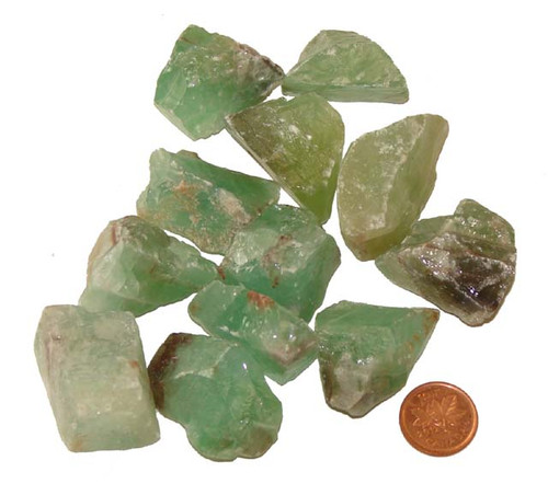 Green Calcite stones - Size Extra Large