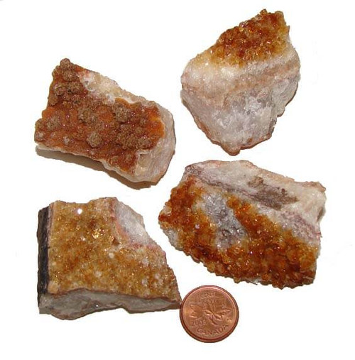 Citrine Crystal Clusters - XX Large