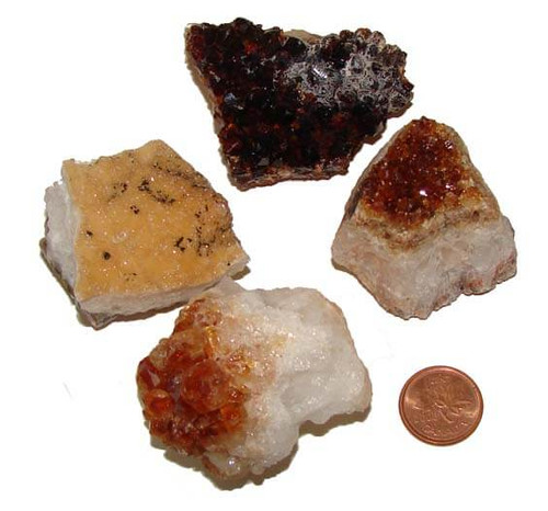 Citrine Crystal Clusters - XXX Large