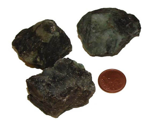 Raw Emerald stones - XXX Large