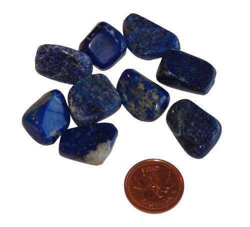 Tumbled Lapis Lazuli healing stones - small