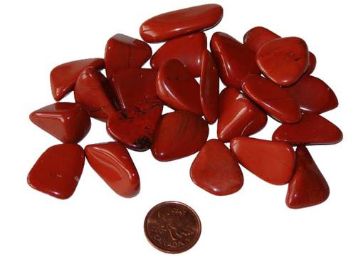 Tumbled Red Jasper Stone - Medium