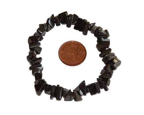 Hematite Chipstone Bracelet