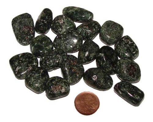 Tumbled Seraphinite Stones, 5 grams