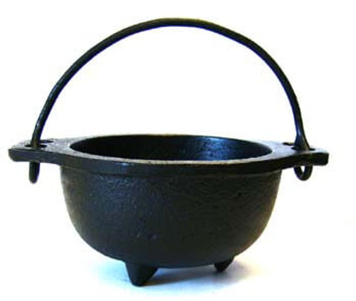 Cast Iron Smudge Bowl for burning Sage
