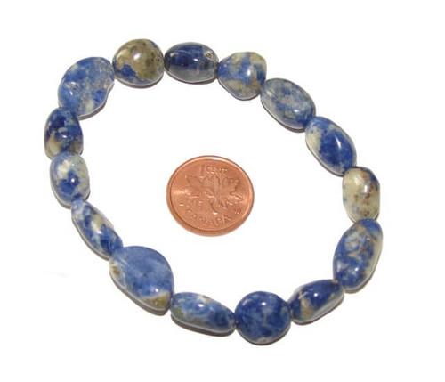 Sodalite Tumbled Stone Bracelet