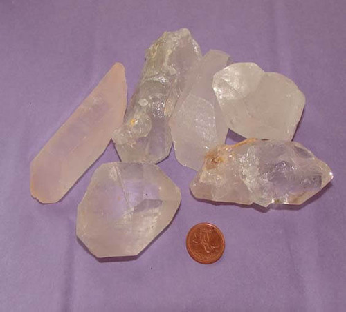 Clear Quartz Large Points - size Huge
