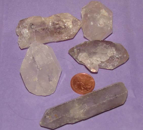 Tibetan Quartz Crystal Points - size xx large