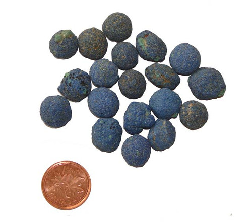 Azurite Stone Berries - Size Extra Small