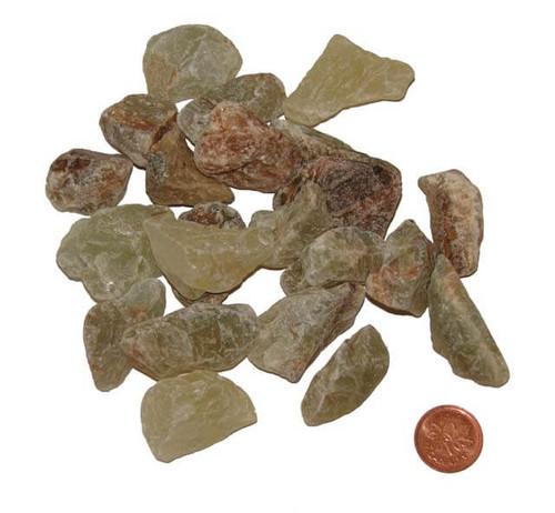 Green Onyx Raw Stones - size extra small