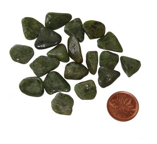 Tumbled Idocrase Stones -Size Teeny