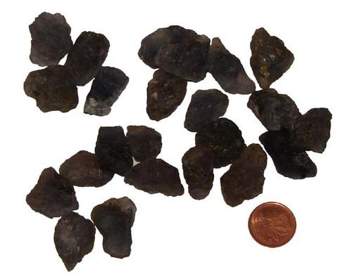 Raw Iolite healing crystals - small