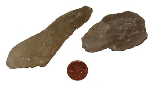 Prasiolite raw stones - size XX Large