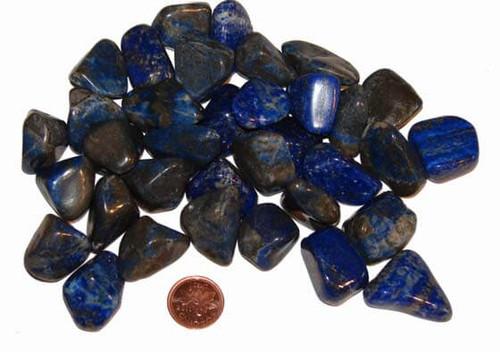 Tumbled Lapis Lazuli Stones - size medium