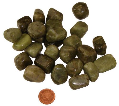 Tumbled Idocrase stones - Medium