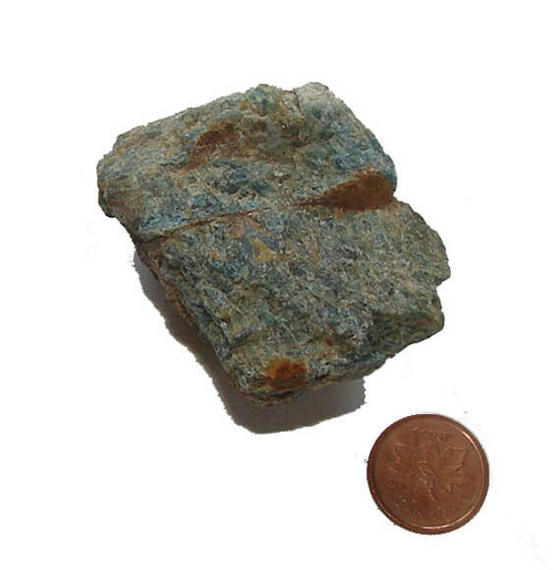 Blue Apatite Stone - Specimen E - Image 1