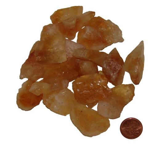 Citrine Rough Stones - size medium
