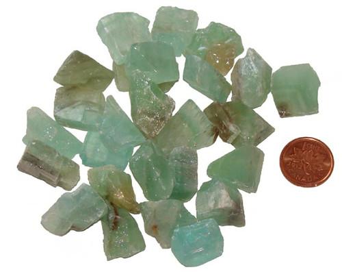 Green Calcite Stones - Extra Small
