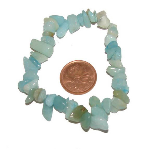 Amazonite Chipstone Bracelet