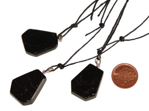 Black Tourmaline Pendants