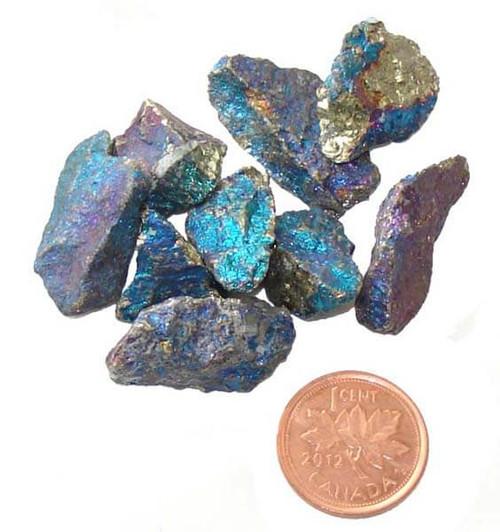 Chalcopyrite Raw Stones - size extra small