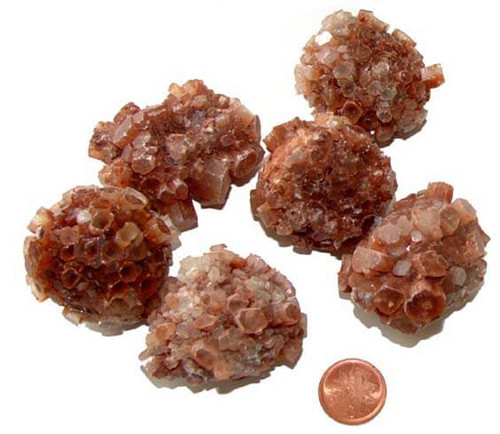 Natural Aragonite Crystal Clusters - XXX Large