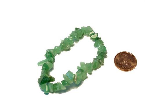 Green Aventurine healing chipstone bracelet