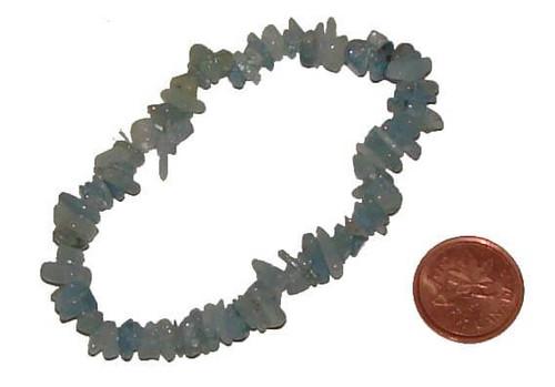 Aquamarine Chipstone Bracelets