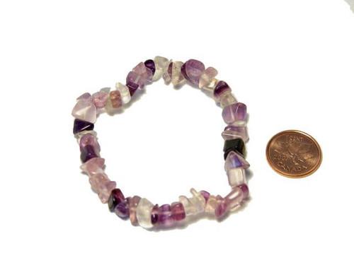 Fluorite Chipstone Bracelet
