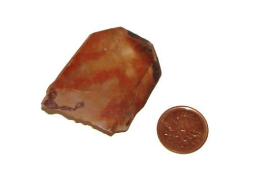 Red Quartz Stone - Specimen C