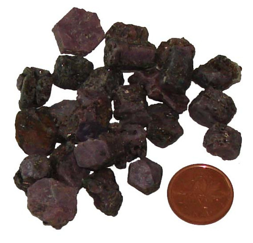 Pink Sapphire Stones - size 2 grams
