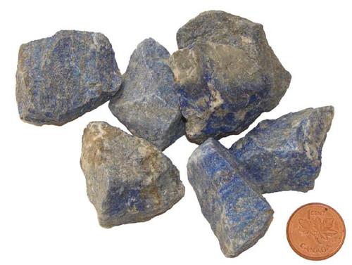 Raw Lapis Lazuli stones - size Medium