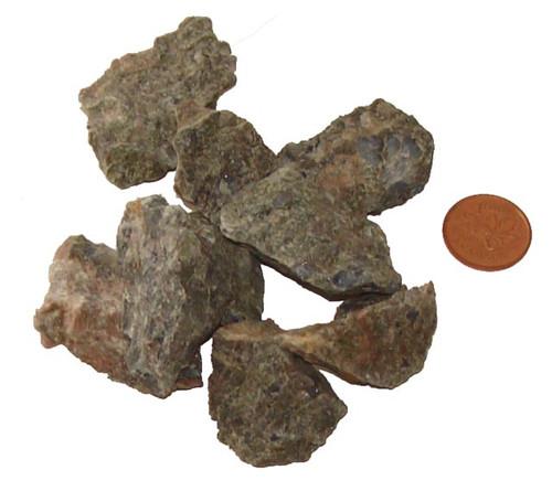 Rhyolite Raw Stones - size small