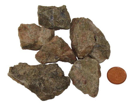 Rough Rainforest Rhyolite Stones - size medium