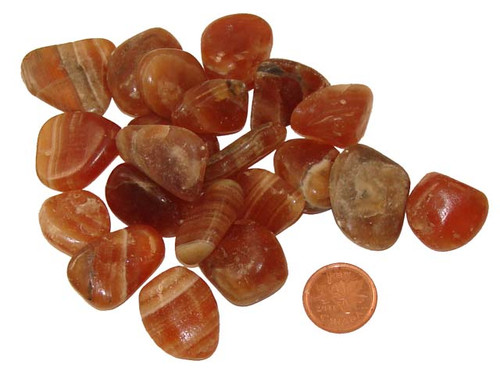 Tumbled Red Onyx - Small