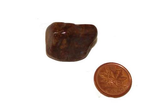 Pietersite tumbled stone - Specimen D