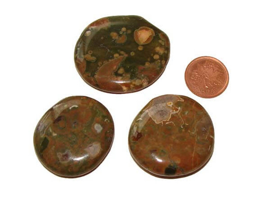 Rhyolite Soothing Pocket Stones, Small