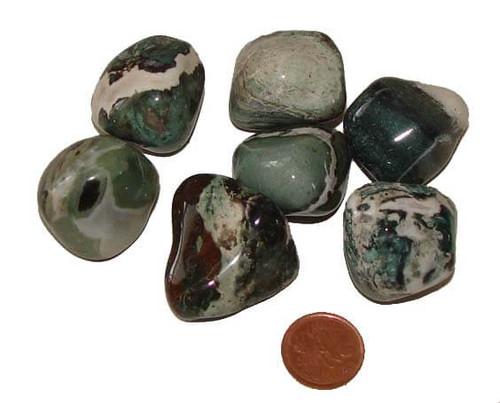 Natural Green Sardonyx stones - size XX Large