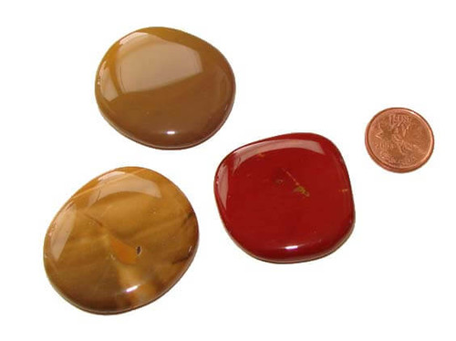 Mookaite Gemstone Pocket Stones, Small