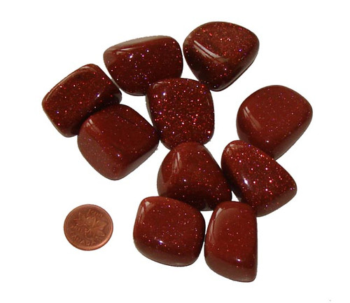 Tumbled Goldstone - Extra Large