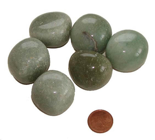 Tumbled Aventurine Stones - size Huge