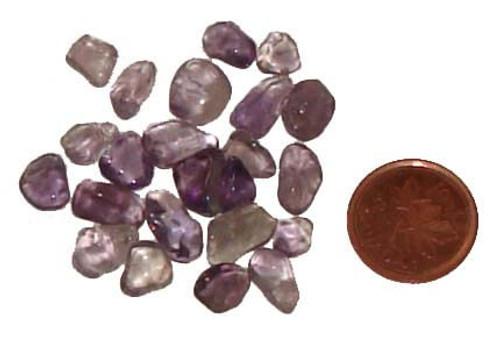 Loose Amethyst Stones - 10 gram package