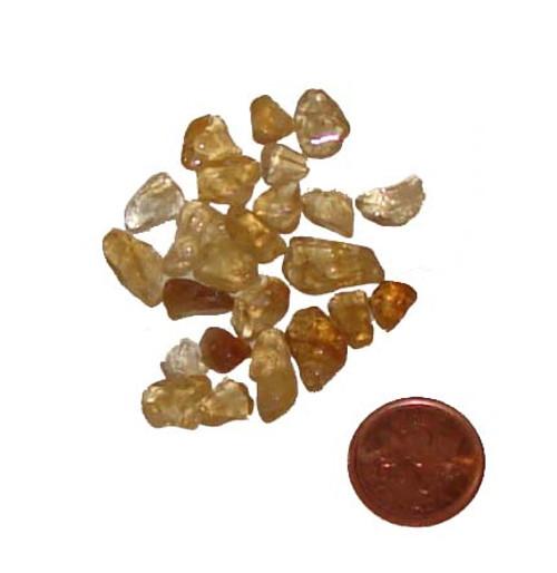Citrine Loose Stones - 10 gram package