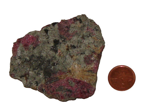 Rough Eudialyte Stone - Specimen E