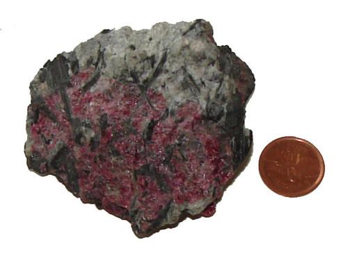 Rough Eudialyte Stones - Specimen F