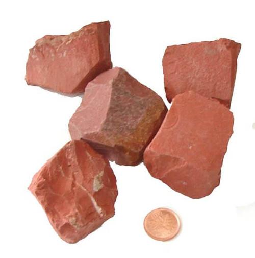 Red Jasper Rough Stones - gigantic