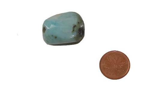 Tumbled Larimar Crystal - Specimen D
