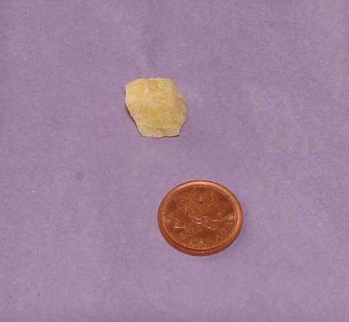 Golden Danburite Stone - Specimen B