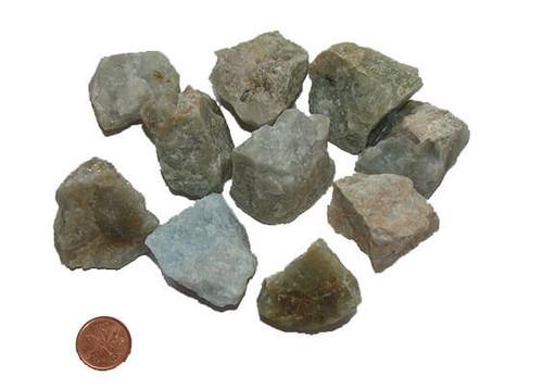 Aquamarine Raw Stone - size XX Large